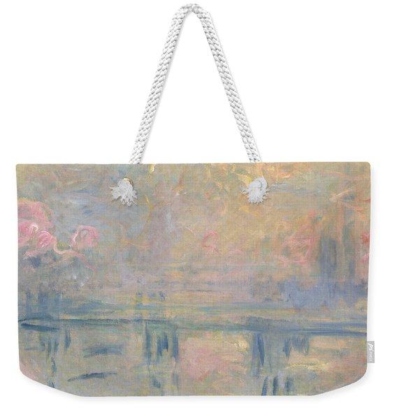 Charing Cross Bridge Weekender Tote Bag