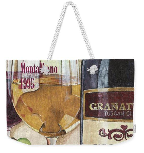 Chianti Rufina Weekender Tote Bag