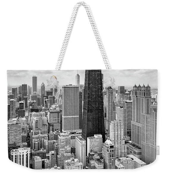 Chicago's Gold Coast Weekender Tote Bag
