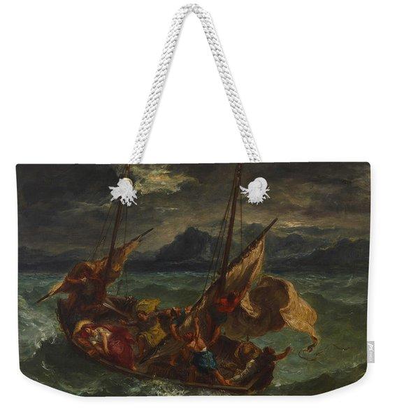 Christ On The Sea Of Galilee Weekender Tote Bag