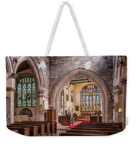 Church Light Weekender Tote Bag