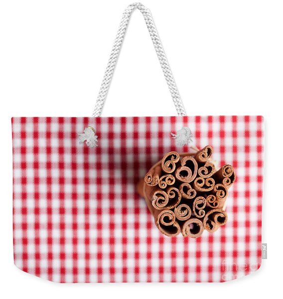 Cinnamon Weekender Tote Bag