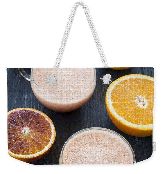 Citrus Smoothies Weekender Tote Bag