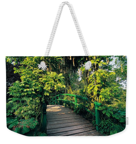 Claude Monet's Garden At Giverny Weekender Tote Bag