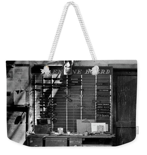 Clocked Out Weekender Tote Bag