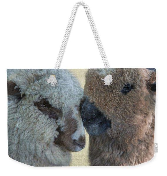 Close Knit Weekender Tote Bag