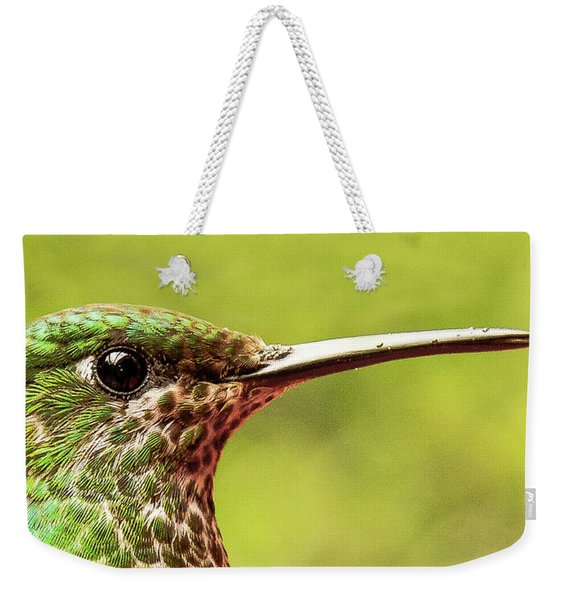 Close-up Of A Rufous-tailed Hummingbird Weekender Tote Bag