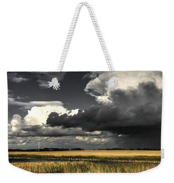 Cloud Weekender Tote Bag