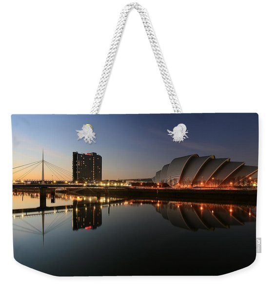 Clydeside Reflections  Weekender Tote Bag