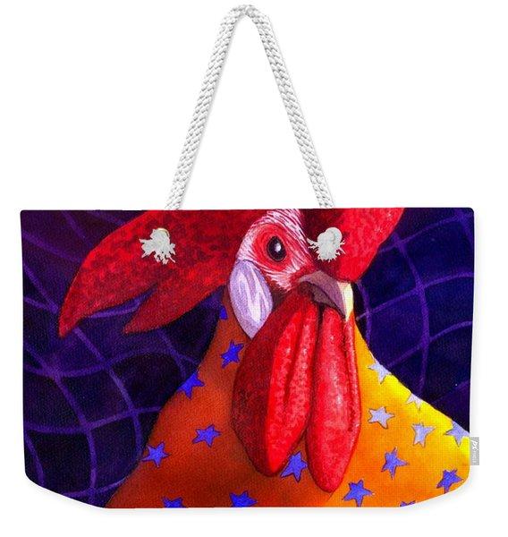 Cock A Doodle Dude Weekender Tote Bag
