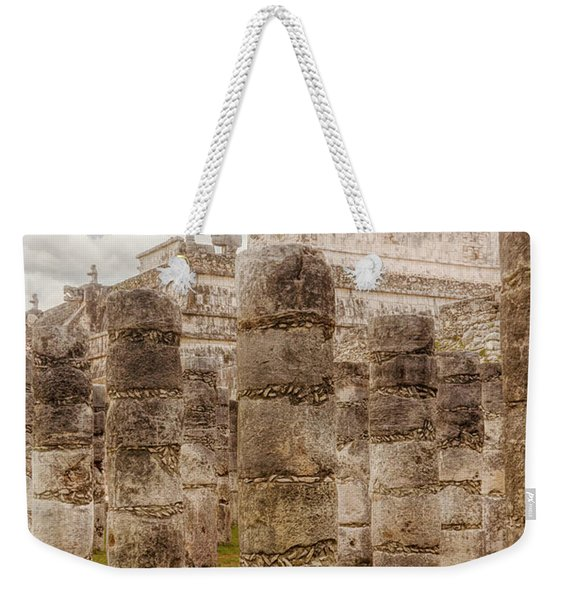 Colomnade Of Warriors Weekender Tote Bag