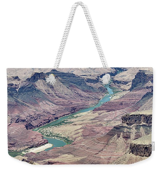 Colorado River In The Grand Canyon Weekender Tote Bag