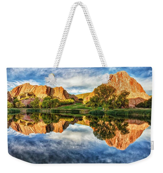 Colorful Colorado Weekender Tote Bag