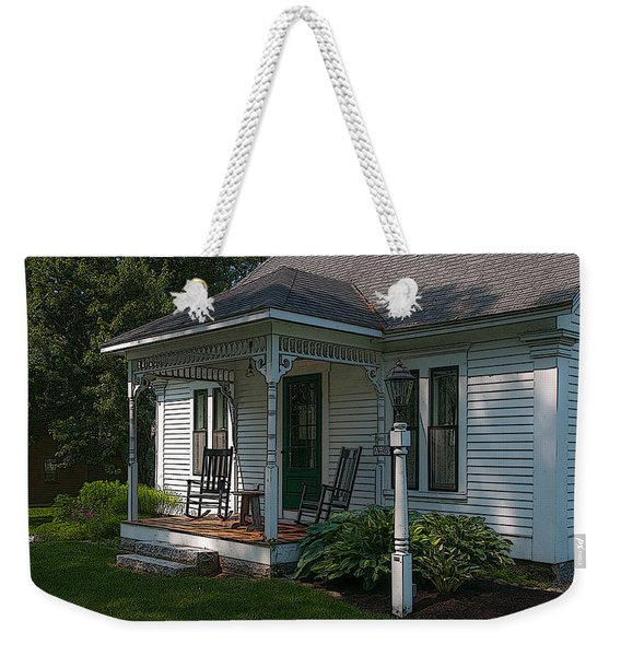 Come Sit On My Porch Weekender Tote Bag