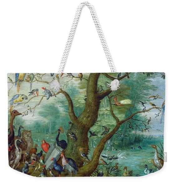 Concert Of Birds Weekender Tote Bag