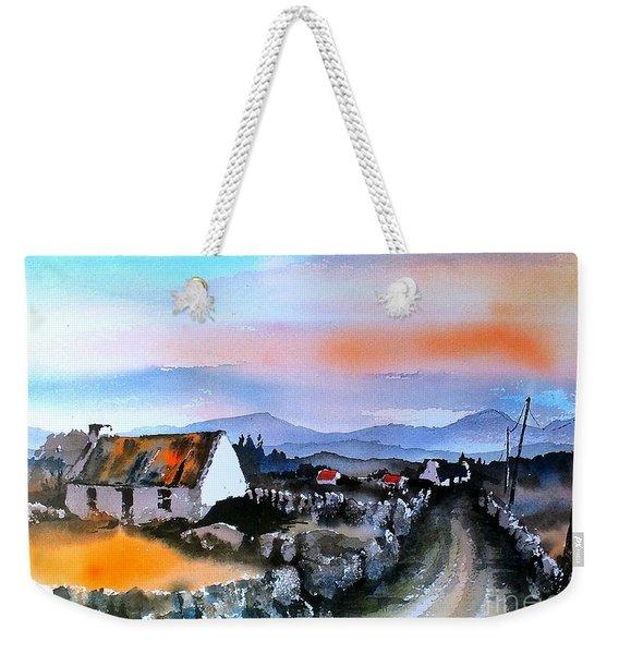 Connemara Sunset, Galway Weekender Tote Bag