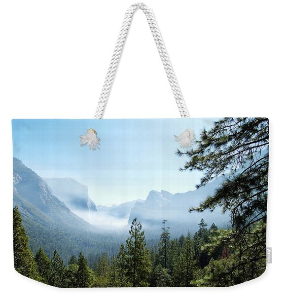 Controlled Burn Of Yosemite Weekender Tote Bag