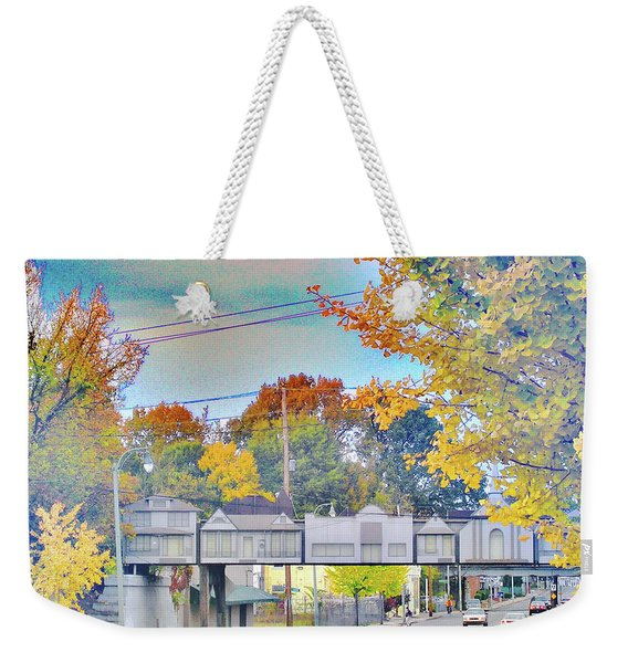 Cooper Young Trestle Weekender Tote Bag