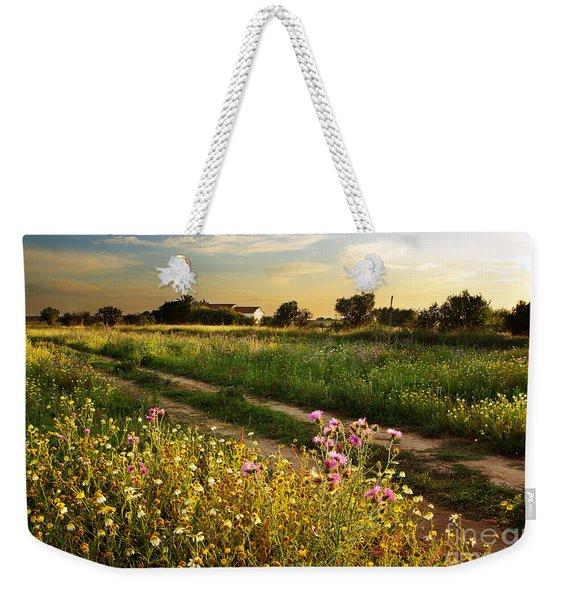 Countryside Landscape Weekender Tote Bag
