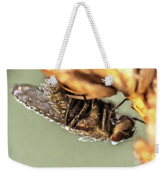 Covered With Dew Drops Fly Weekender Tote Bag