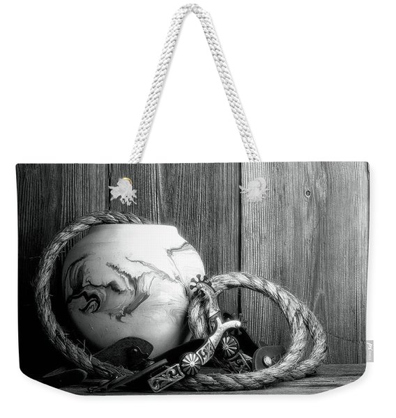 Cowboys And Indians Weekender Tote Bag