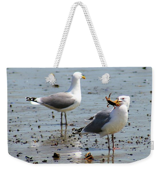 Crab Lunch Weekender Tote Bag