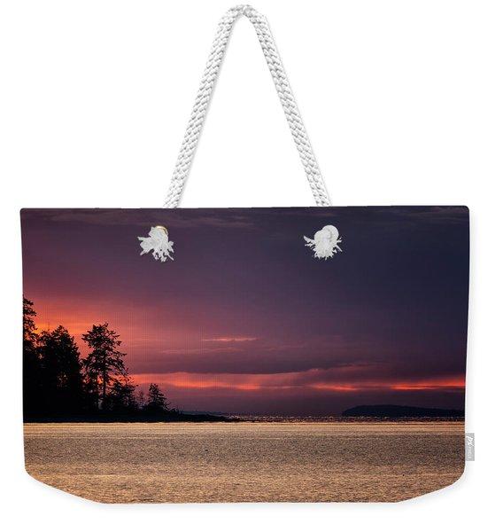 Craig Bay Sunset Weekender Tote Bag
