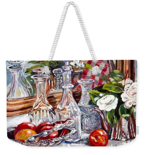 Crystal Reflections Weekender Tote Bag
