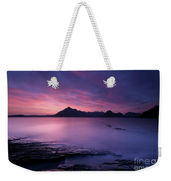 Cuillins At Sunset Weekender Tote Bag