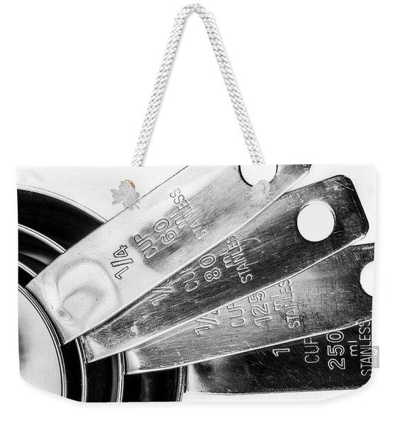 1 Cup Measure And Siblings. Weekender Tote Bag