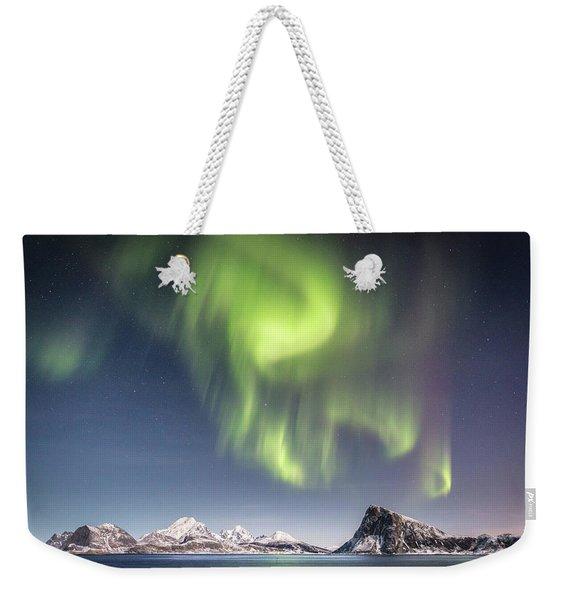 Curtains Of Light Weekender Tote Bag