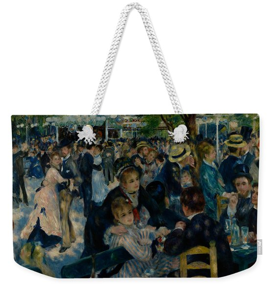 Dance At Le Moulin De La Galette  Weekender Tote Bag