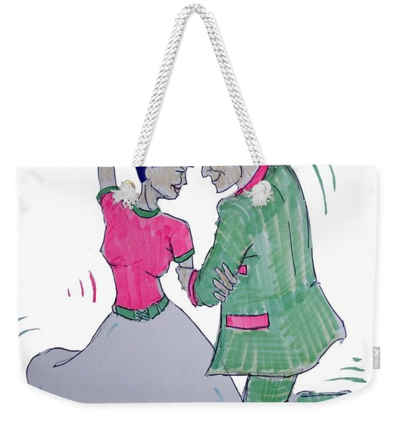 Dance To The Beat Weekender Tote Bag