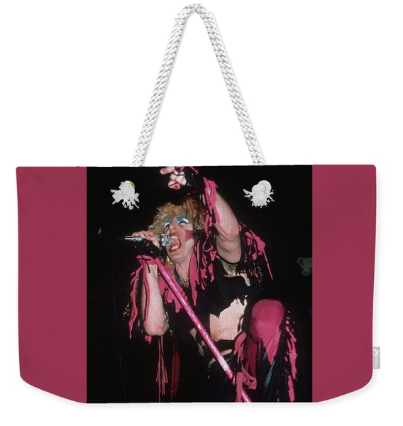 Dee Snider Of Twisted Sister Weekender Tote Bag