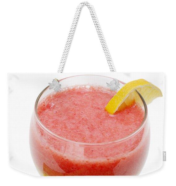 Delicious Strawberry Papaya Smoothie Weekender Tote Bag