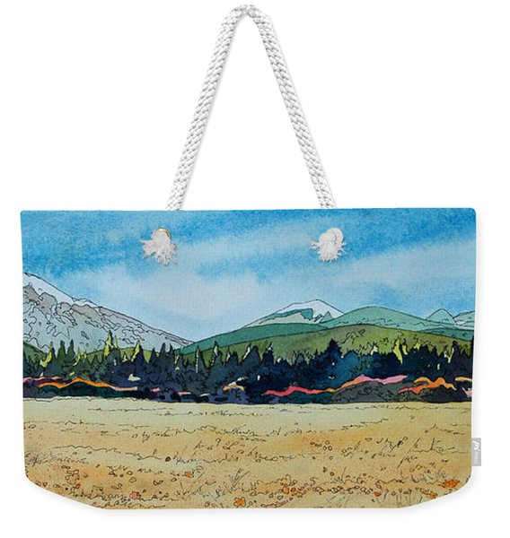 Deschutes River View Weekender Tote Bag