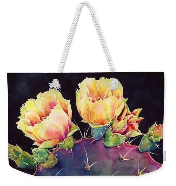 Desert Bloom 2 Weekender Tote Bag