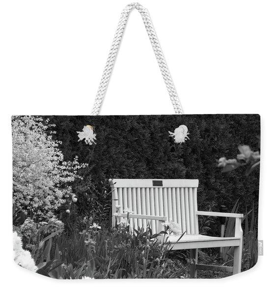 Desolate In The Garden Weekender Tote Bag