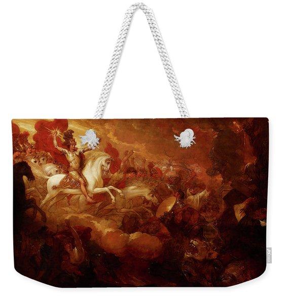Destruction Of The Beast And The False Prophet Weekender Tote Bag