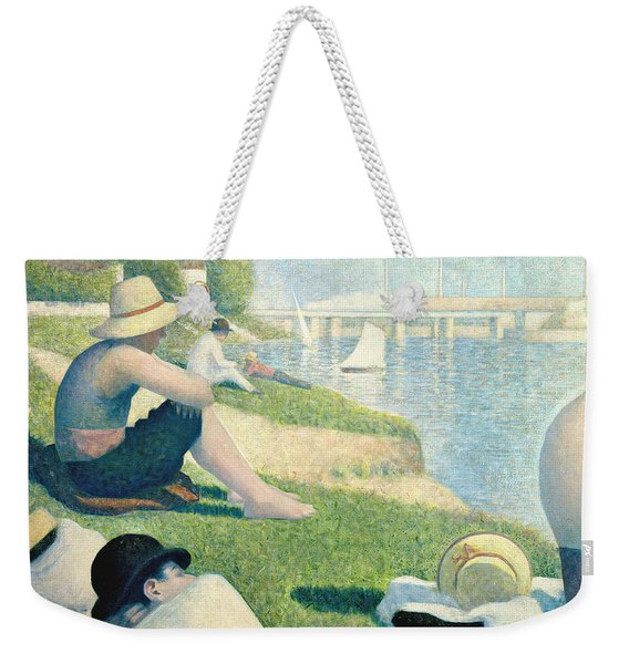 Detail From Bathers At Asnieres Weekender Tote Bag
