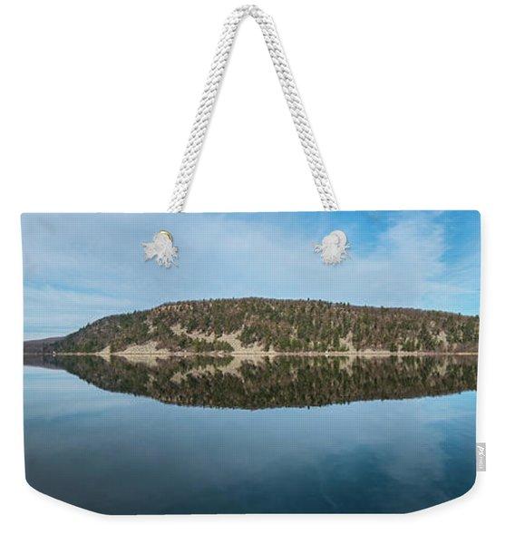 Devils Lake Weekender Tote Bag