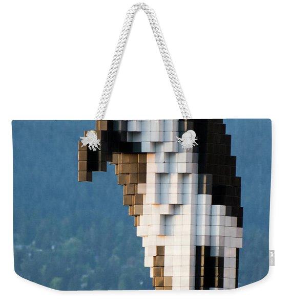 Digital Orca Weekender Tote Bag
