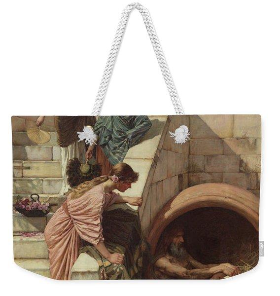 Diogenes Weekender Tote Bag