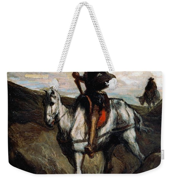Don Quixote In The Mountains Weekender Tote Bag