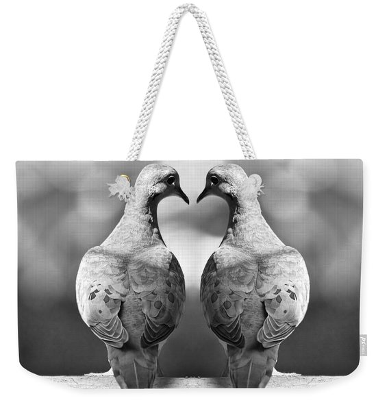 Dove Birds Weekender Tote Bag
