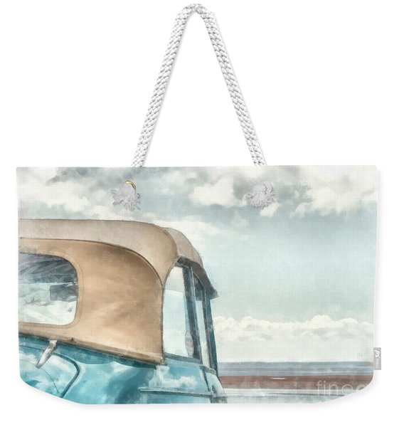 Down At The Shore Weekender Tote Bag