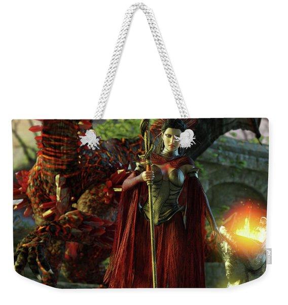 Dragon Queen Weekender Tote Bag