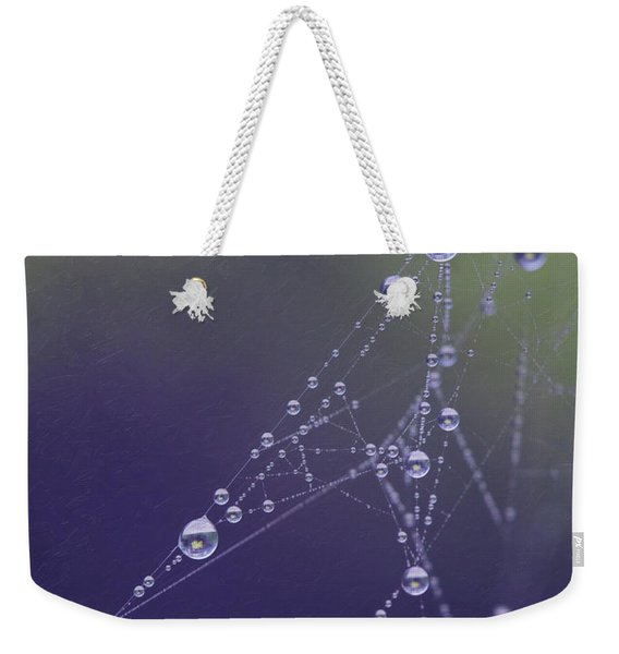 Droplets Weekender Tote Bag