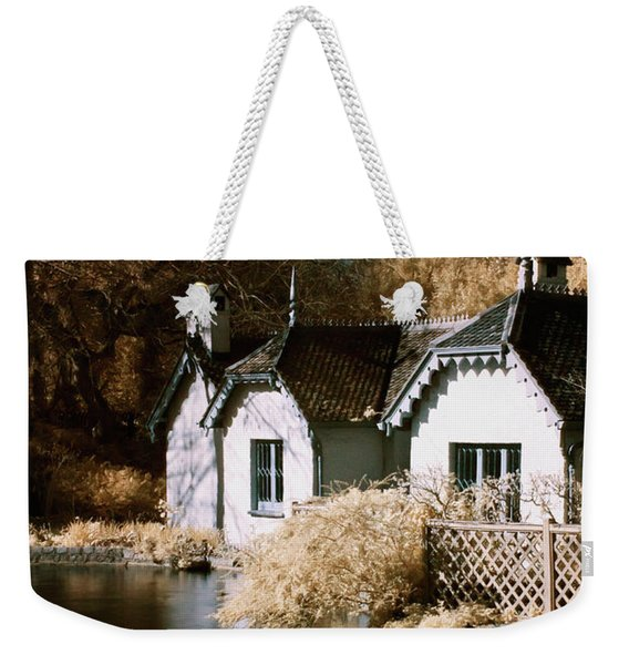 Duck Island Cottage Weekender Tote Bag
