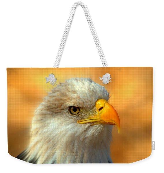 Eagle 10 Weekender Tote Bag